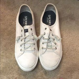 Sperry white sneakers